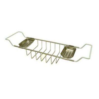 Claw Foot Bathtub Caddy in Satin Nickel