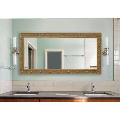 Extra Large Opulent Gold Vanity Mirror