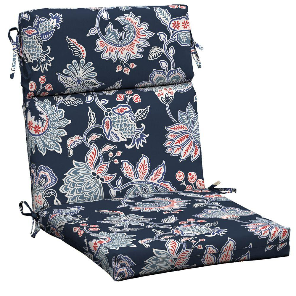 patio dining chair cushions. Hampton Bay Caroline Outdoor Dining Chair Cushion Patio Cushions T