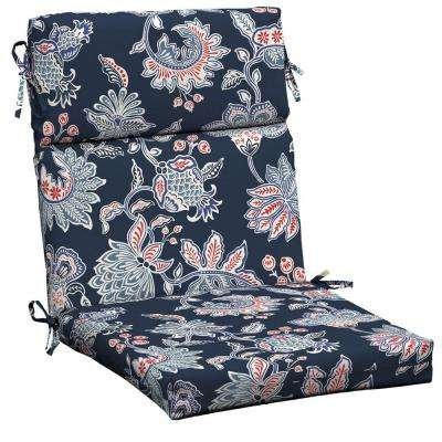 Highback Hampton Bay Outdoor Cushions Patio Furniture The