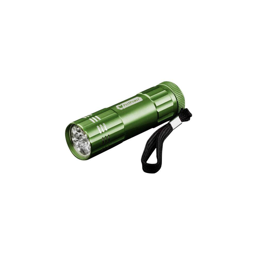 Power By Go Green 9 LED Flashlight in Forest Green