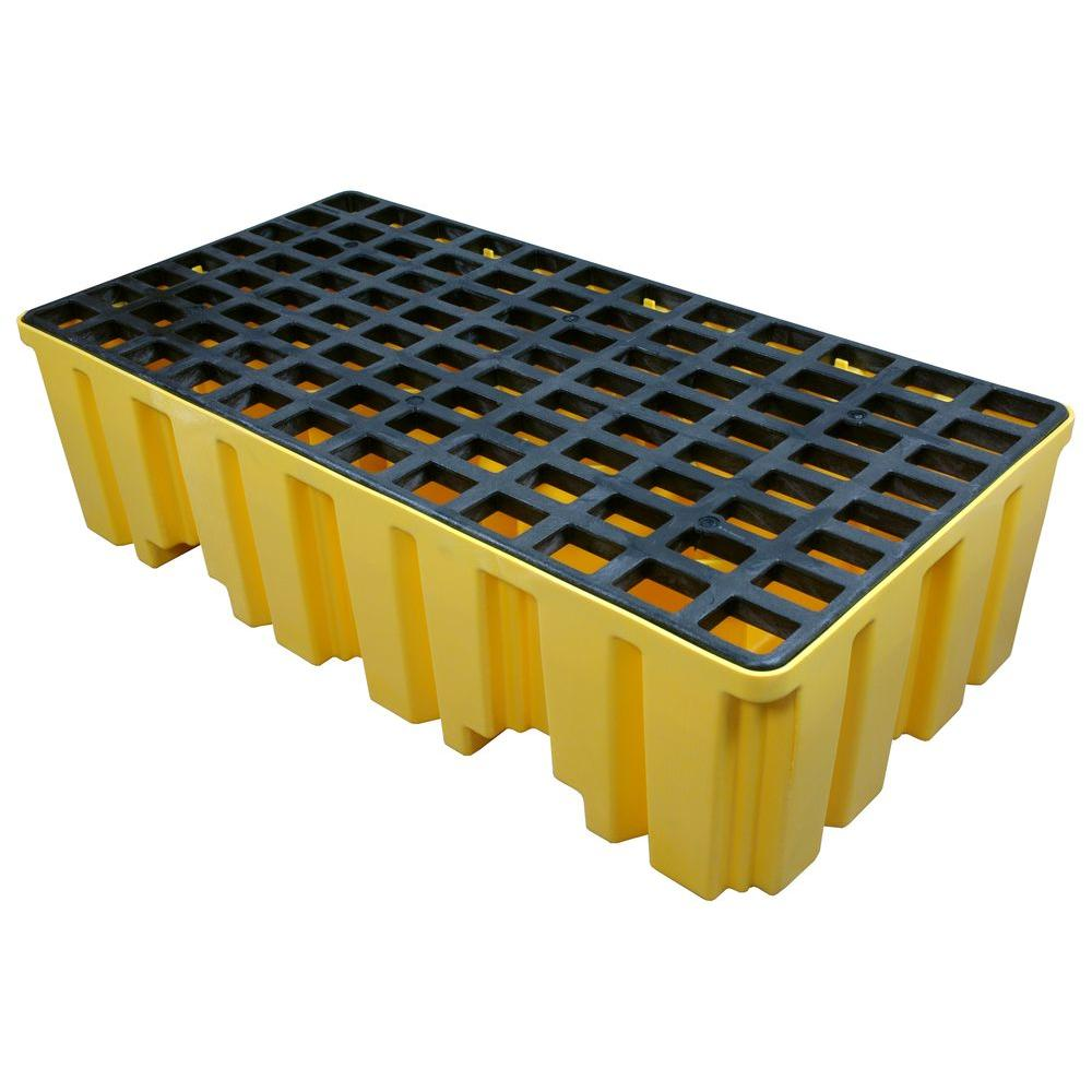 2-Drum Spill Containment Pallet