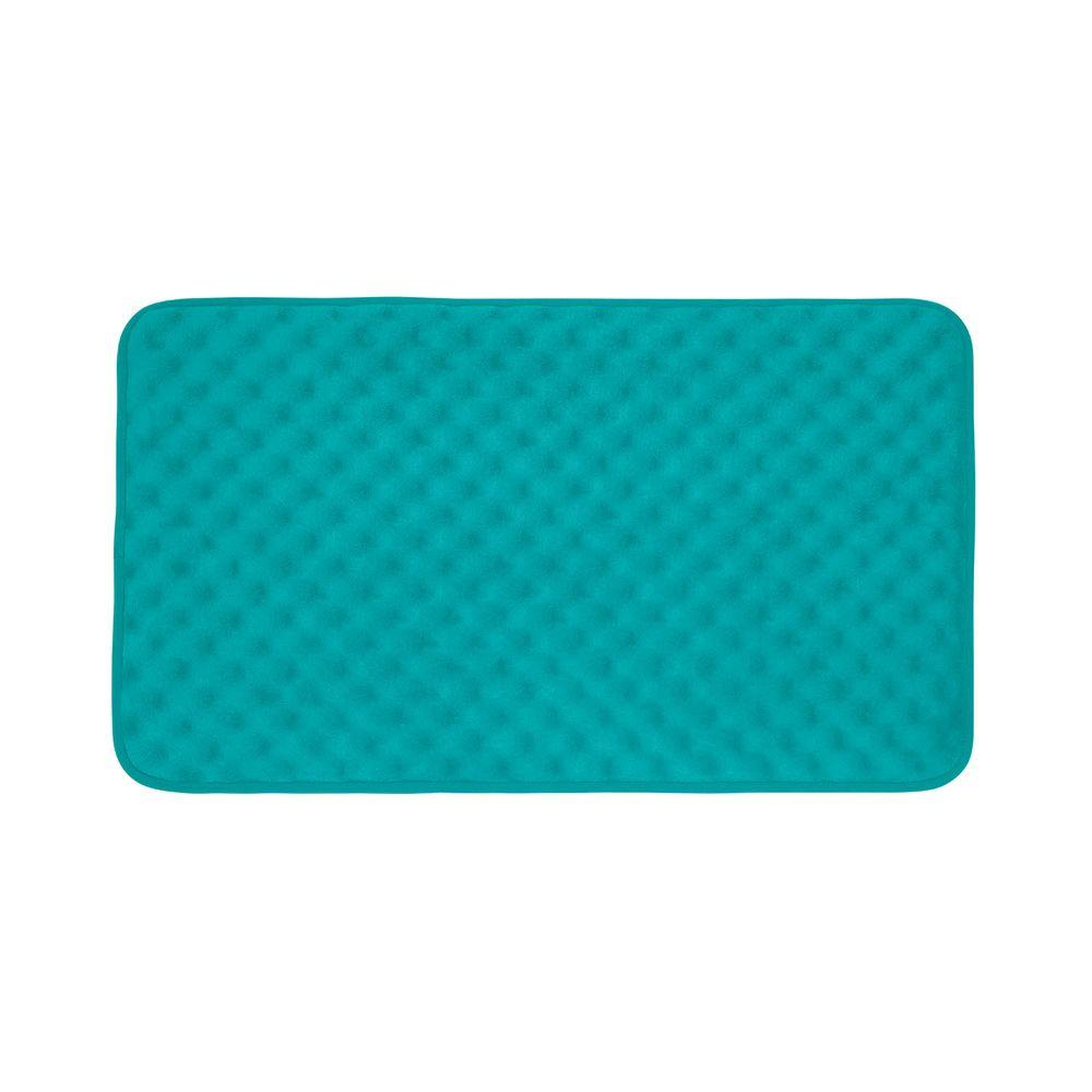 InterDesign 13.75 In. X 26.5 In. Pebblz Bath Mat In Clear