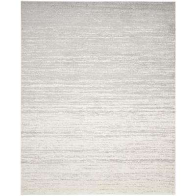 Adirondack Ivory/Silver 8 ft. x 10 ft. Area Rug