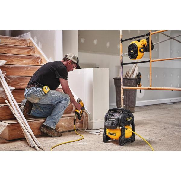 DEWALT - 20-Volt MAX Lithium-Ion Cordless and Corded Jobsite Fan (Tool-Only)