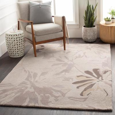 Amaranthus Gray 8 ft. x 10 ft. Indoor Area Rug
