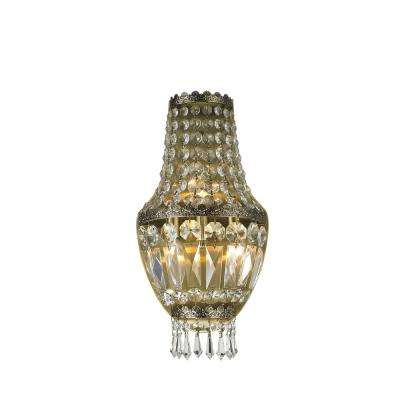 Metropolitan Collection 3 Light Antique Bronze Sconce
