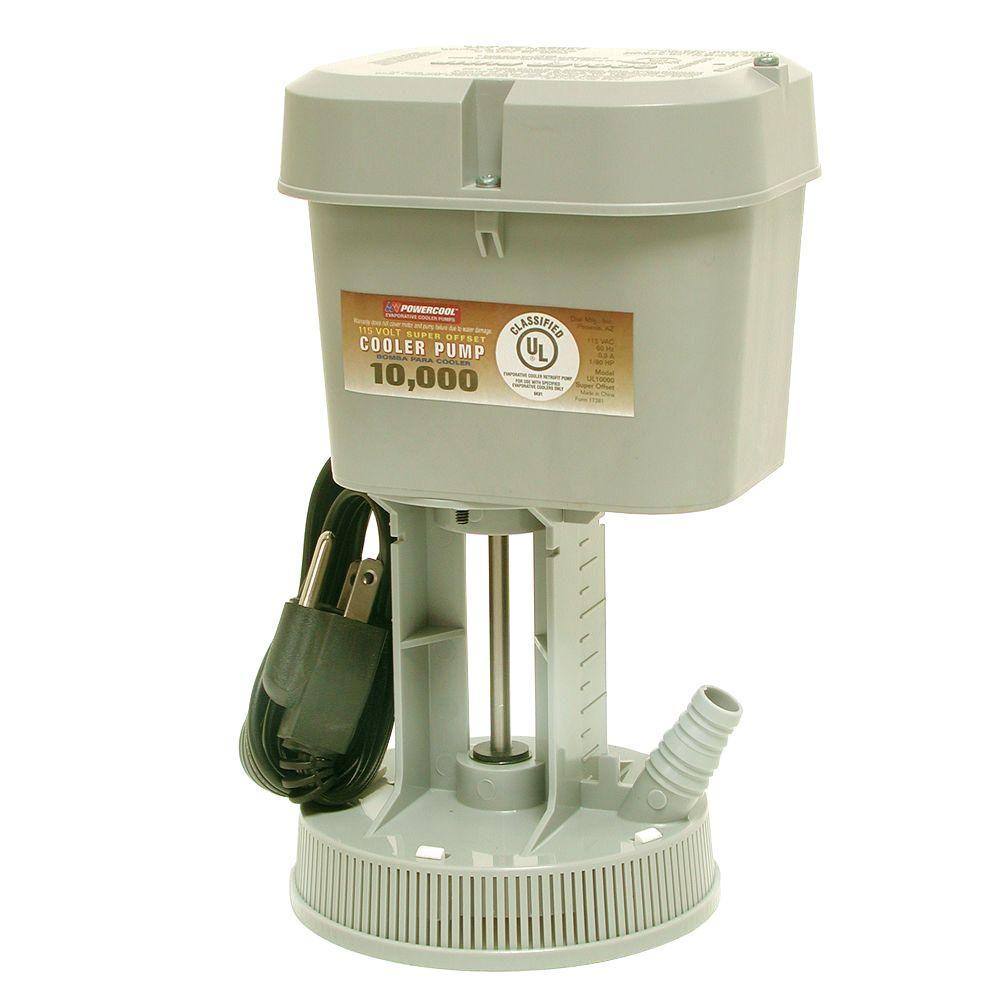 Powercool dial ul10000 115 volt evaporative cooler pump - Mastercool exterior cooler cover ...