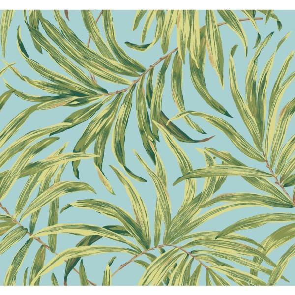 York Wallcoverings Tropics Bali Leaves Wallpaper