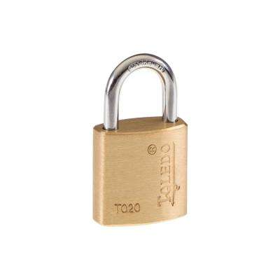 20 mm Brass Padlock in Bronze