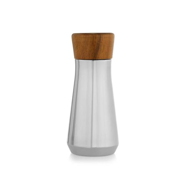 Nambe Vie 9 in. Stainless and Wood Cocktail Shaker MT1099