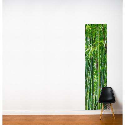 """24 in. x 96 in. Multi-Color """"Green Beans"""" Fresk Wall Decal"""