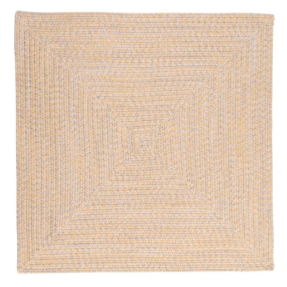 Home Decorators Collection Marilyn Tweed Sunflower 8 Ft X Square Braided Rug
