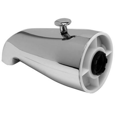 3/4 in. IPS Bathtub Spout with Top Diverter, Chrome