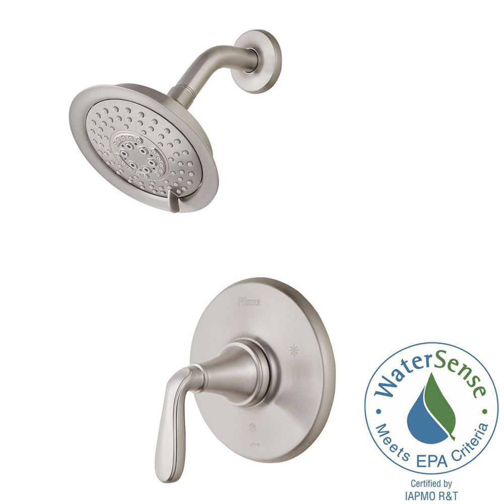 shower faucet kit with valve. Pfister Northcott Single Handle Shower Faucet Trim Kit In Brushed Nickel  Valve Not Included