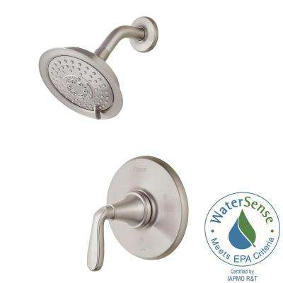 Northcott Single-Handle Shower Faucet Trim Kit in Brushed Nickel (Valve Not Included)