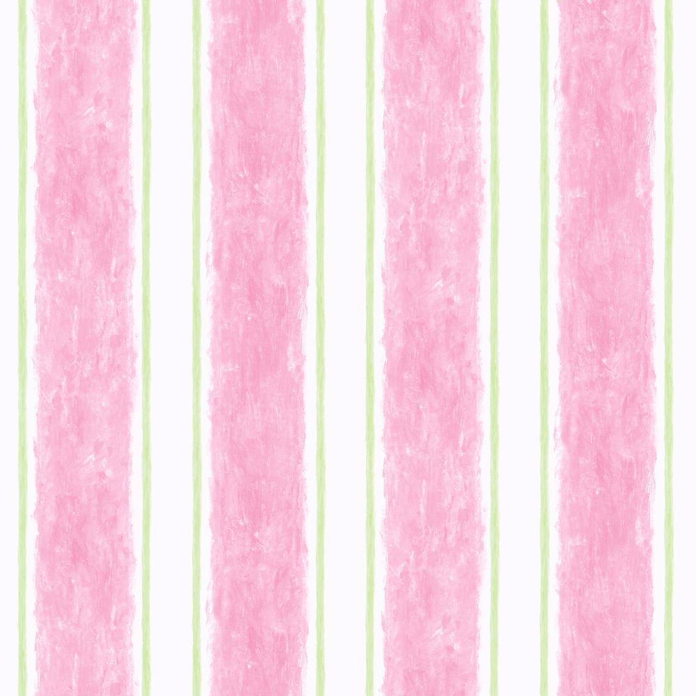 York Wallcoverings 56 sq. ft. Cabana Stripe Wallpaper-DISCONTINUED
