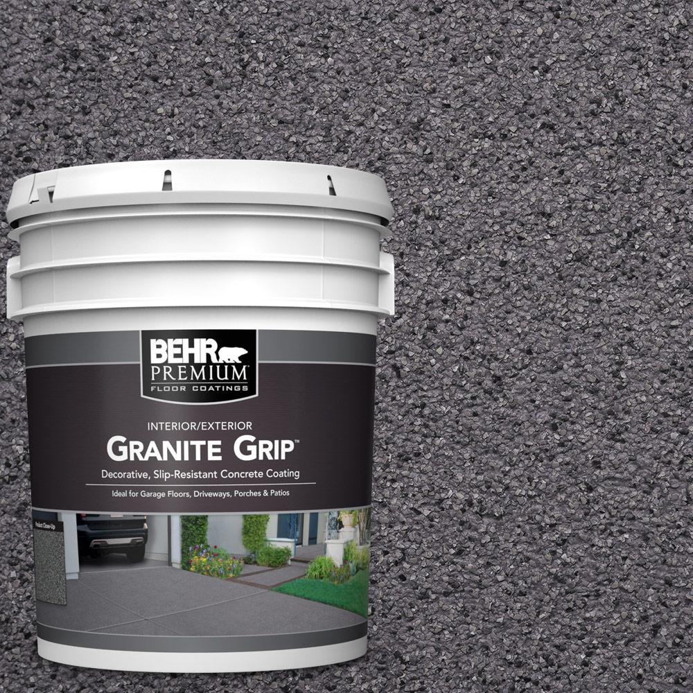 5 gal. #GG-06 Vineyard Rock Decorative Concrete Floor Coating