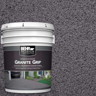 5 gal. #GG-06 Vineyard Rock Decorative Flat Interior/Exterior Concrete Floor Coating