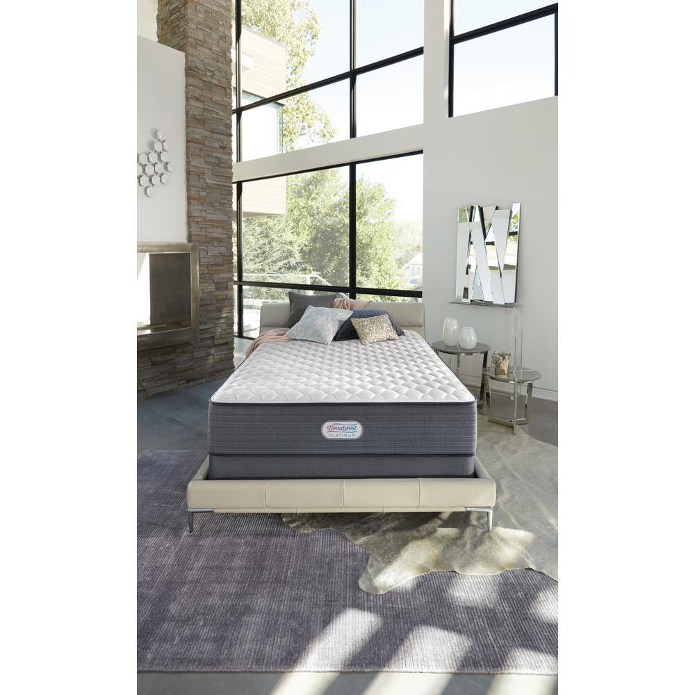 Platinum Spring Grove 15 in. Cal King Luxury Firm Pillow Top Mattress Set