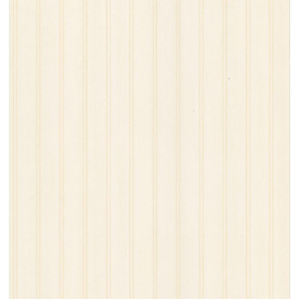 Bath Bath Bath III Cream Beadboard Wallpaper Sample