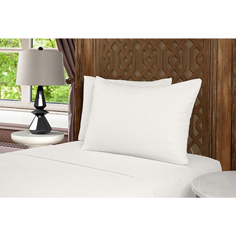 Geraldine 100% Cotton White Flannel Queen Sheet Set