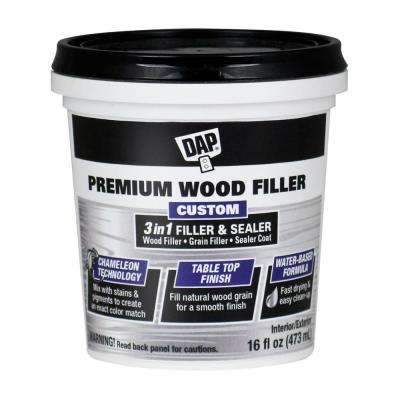 Premium Wood Filler 16 oz. White