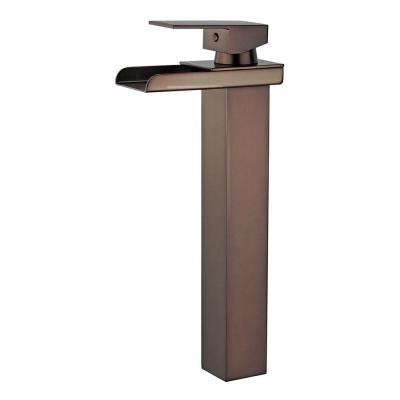 Oviedo Single Hole Single-Handle Bathroom Faucet with Overflow Drain in Oil Rubbed Bronze