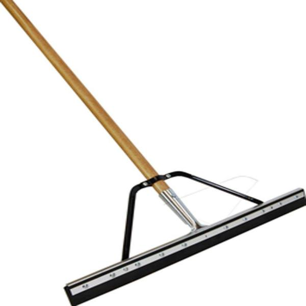 Professional 24 in. Floor Squeegee with Handle