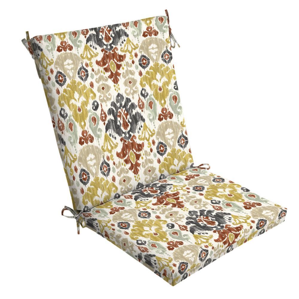 Arden Selections 20 X 20 Topaz Kenda Ikat Outdoor Dining Chair