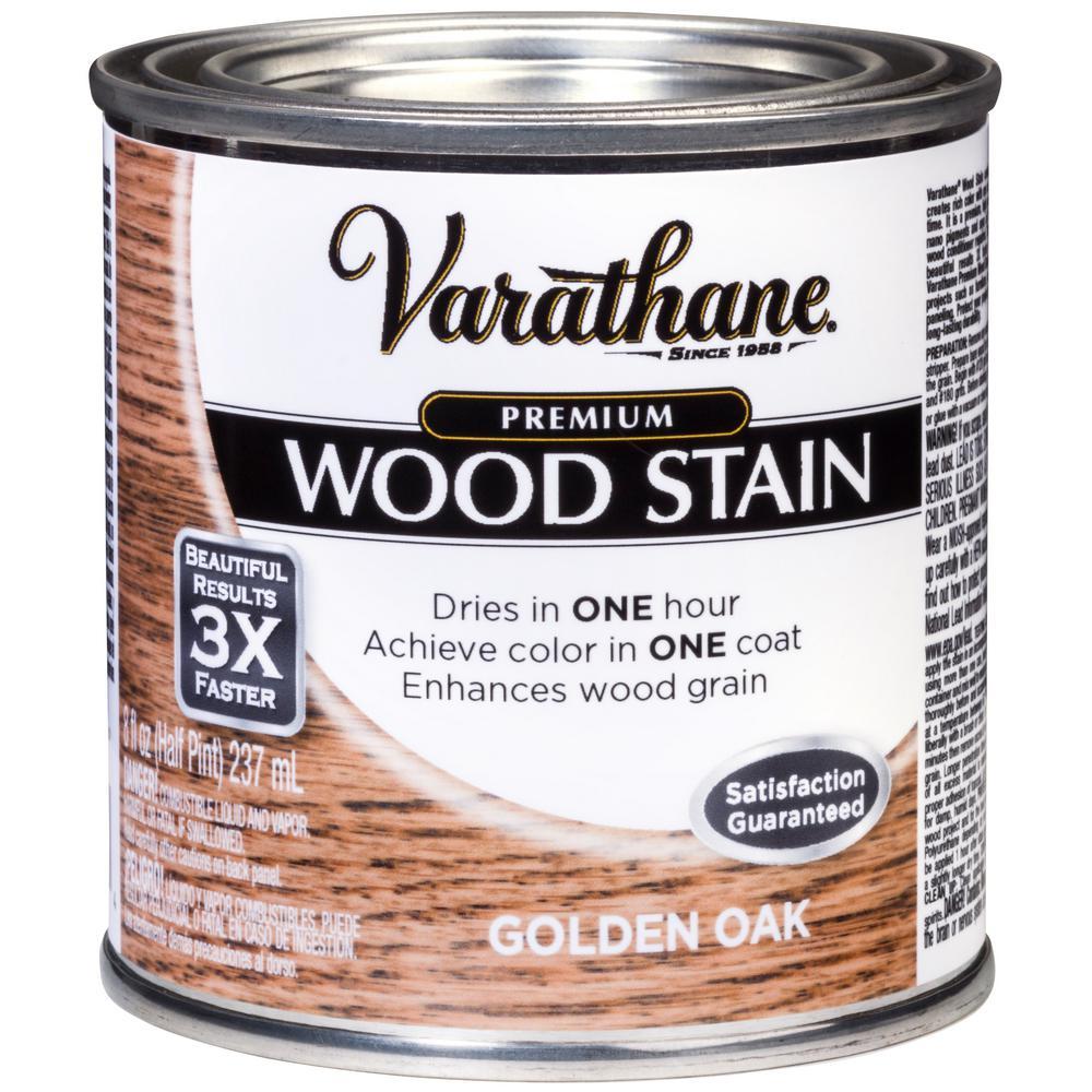 Varathane 8 oz. Golden Oak Premium Fast Dry Interior Wood Stain