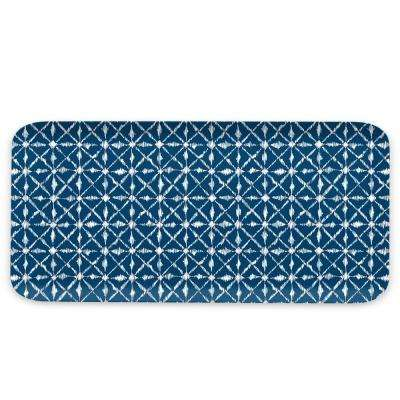 Indochine Ikat Melamine Rectangular Mattetray