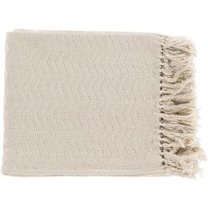 Stanley Ivory Throw Blanket