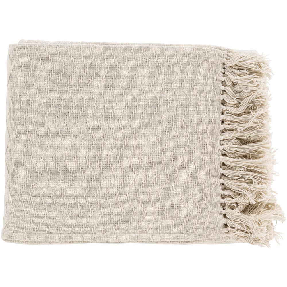 Stanley Ivory Throw Blanket