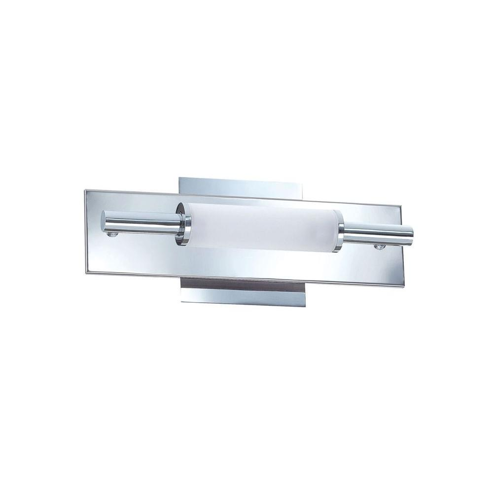 Kendal Lighting Cassiopeia 2-Light Ceiling Chrome Incandescent Vanity