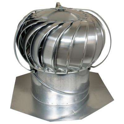 12 in. Mill Aluminum Externally Braced Wind Turbine