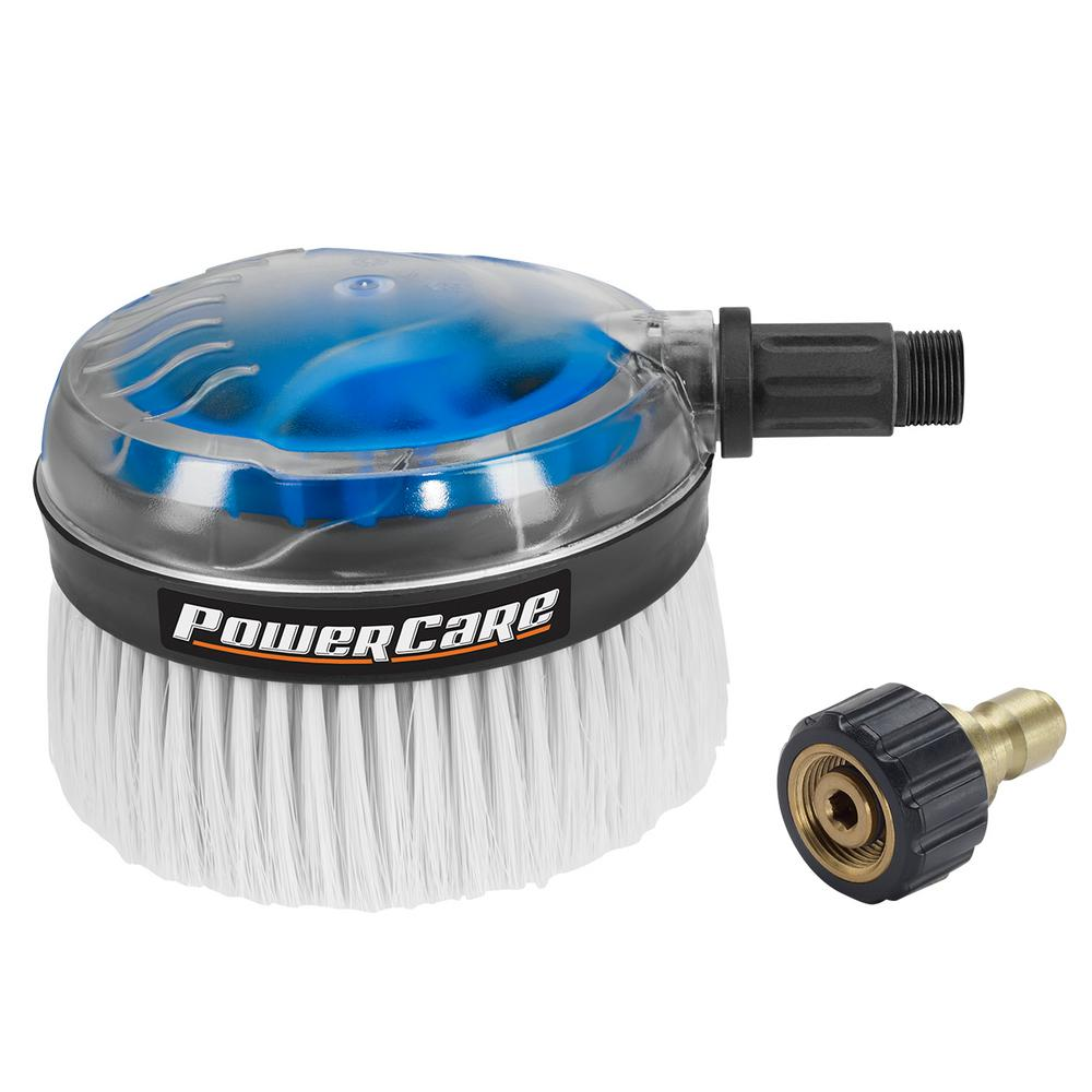 Power Care 3300-psi Gas and Electric Pressure Washer Rotating Brush