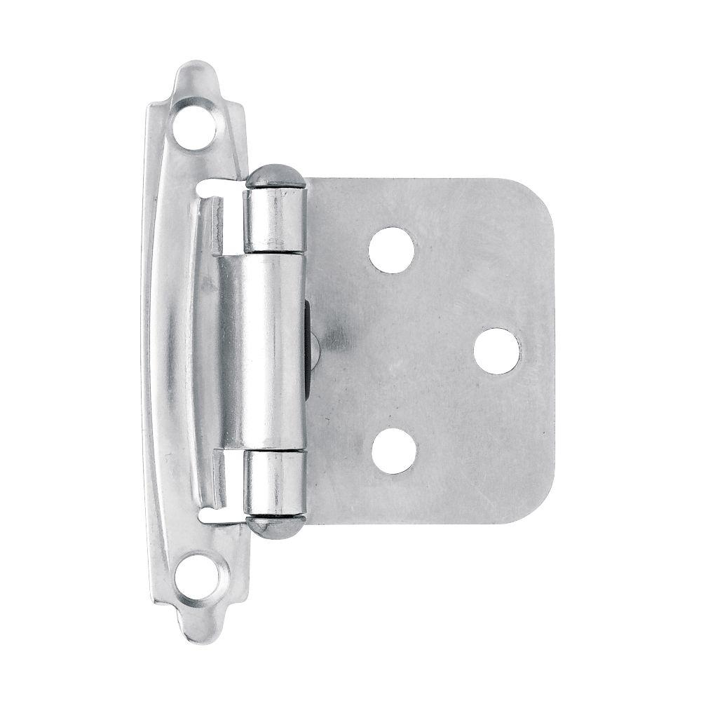 Liberty Chrome Self-Closing Overlay Hinge (1-Pair)-H0103AC-CHR-O3 ...
