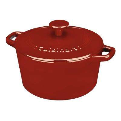 Chef's Classic 3 Qt. Cast Iron Dutch Oven with Lid
