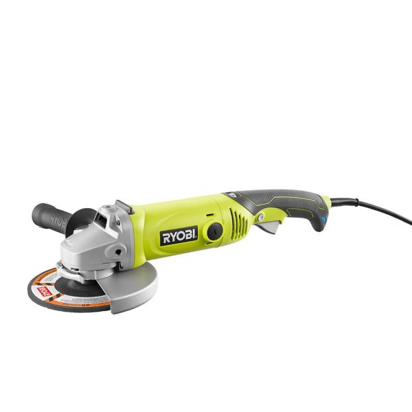 Ryobi 7 In 10 Amp Angle Grinder Ag701 The Home Depot