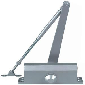 Residential/Light Duty Commercial Door Closer With Parallel Arm Bracket In  Aluminum   Size 2