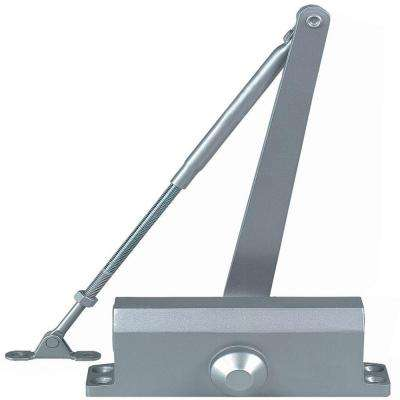 Residential/Light Duty Commercial Door Closer with Parallel Arm Bracket in Aluminum - Size 2