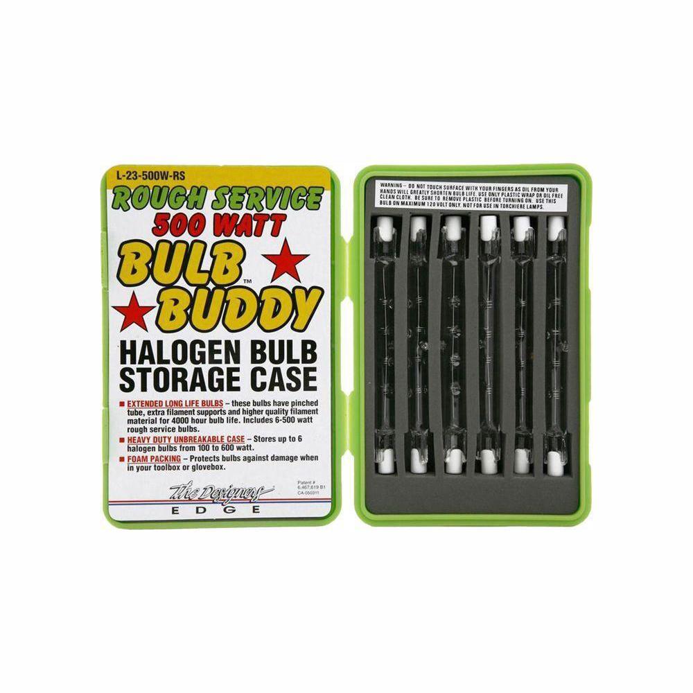 500-Watt Rough Service Bulb Buddy T3 Halogen Replacement Light Bulb (6-Pack)