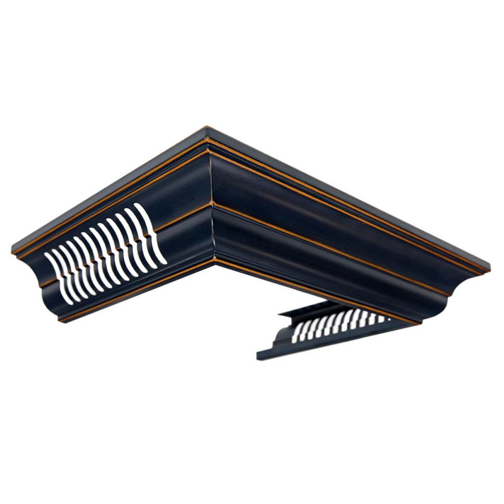 Zline Kitchen And Bath Zline Crown Molding With Vents For