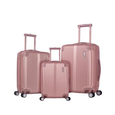 Berlin 3-Piece Champagne Hardside Non-Expandable Luggage Set