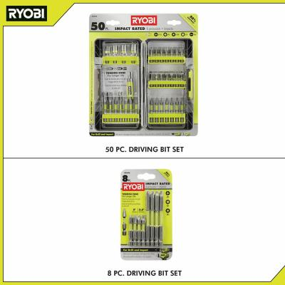 Impact Rated Driving Kit (50-Piece) with BONUS (8-Piece) Impact Rated Driving Kit