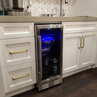15 Beverage cooler 96 Can Built-In Single Zone Touch Control