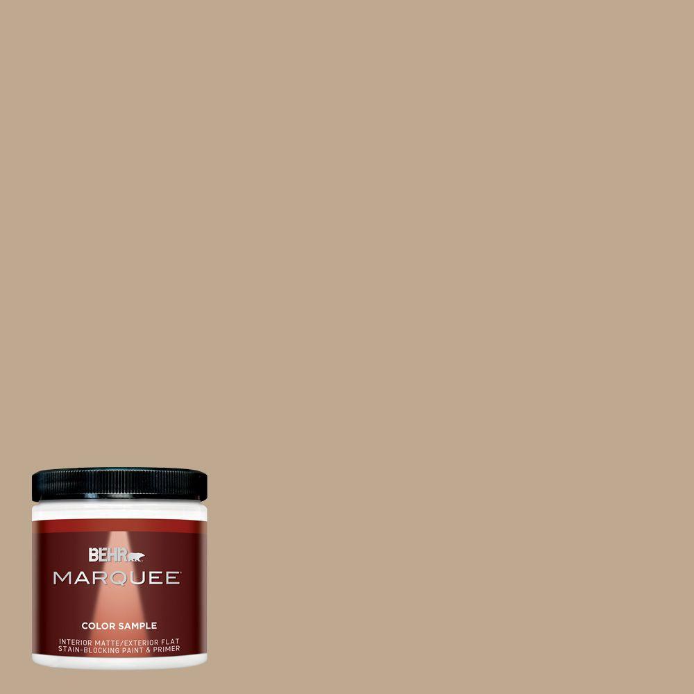 8 oz. #MQ2-25 British Khaki Interior/Exterior Paint Sample