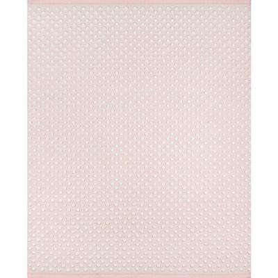 Windsor Pink 8 ft. 6 in. x 11 ft. 6 in. Area Rug