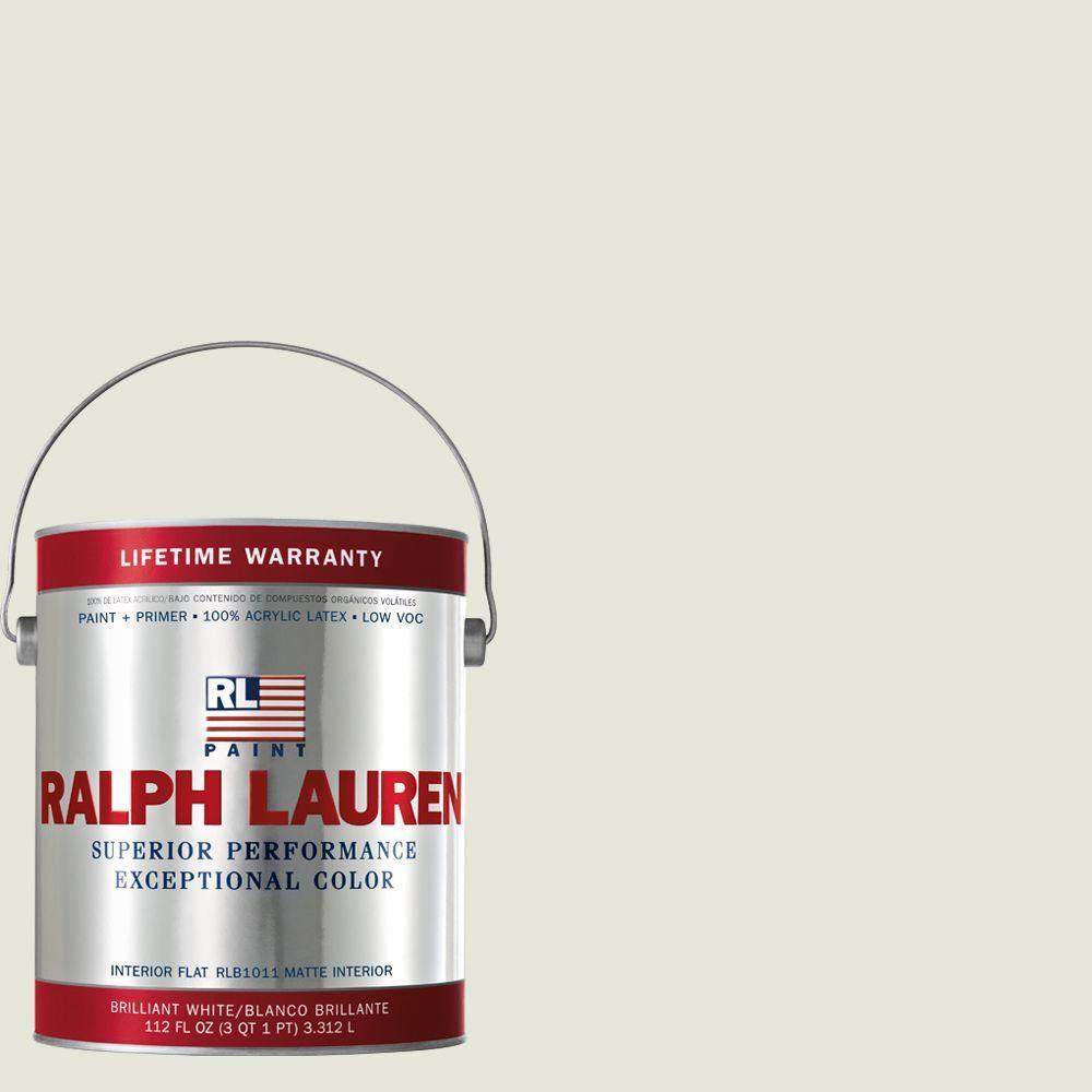 Ralph Lauren 1-gal. Studio White Flat Interior Paint